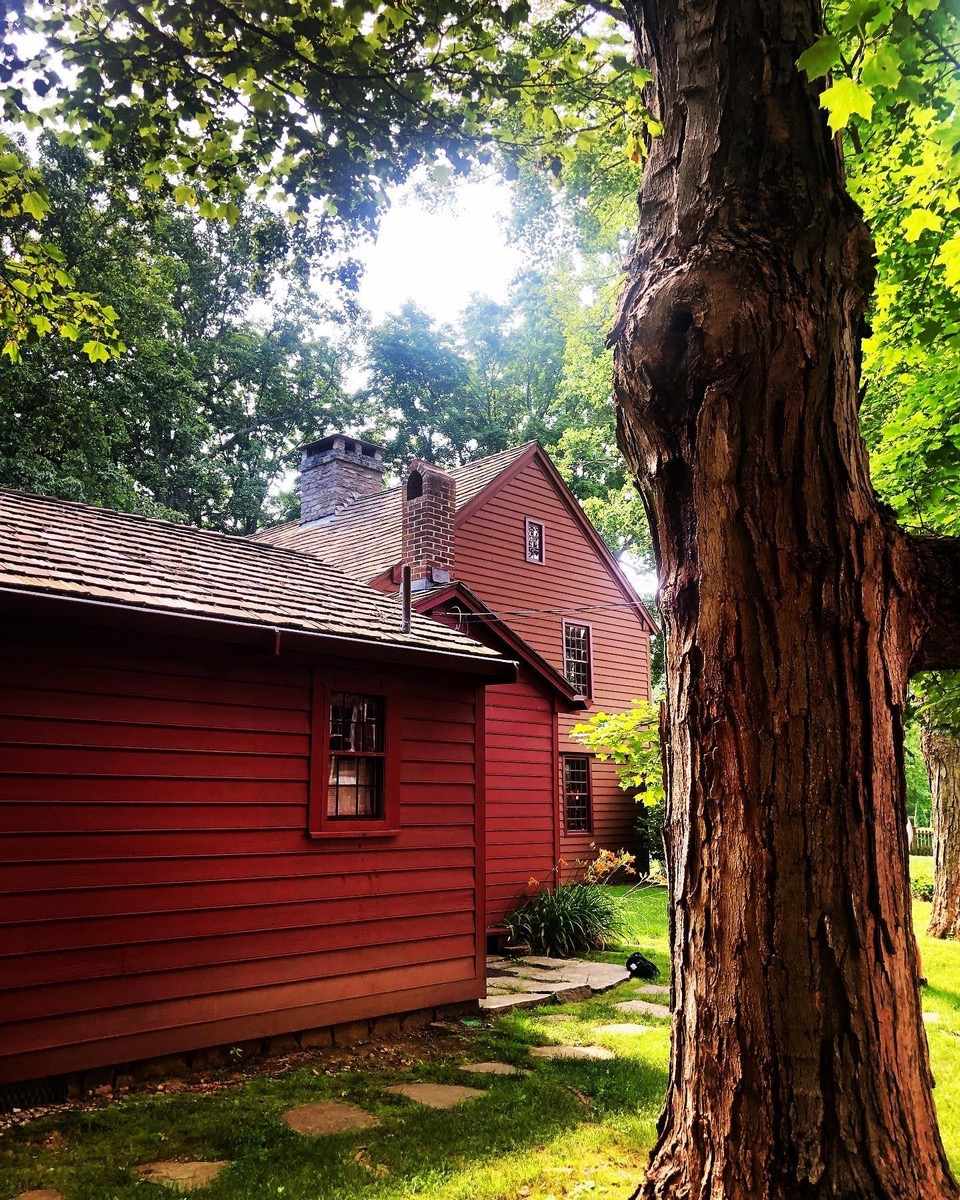 Madison Lyric Stage: View of the Deacon John Grave House